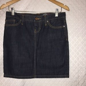 Gap '06 Fall limited edition 1969 Jeans skirt